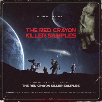 Red Crayon Killer Samples (Limited Edition)