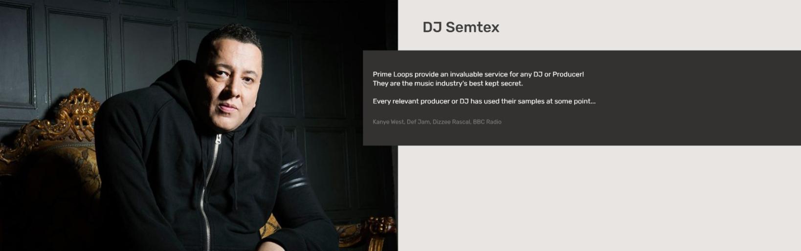 DJ Semtex   Testimonial