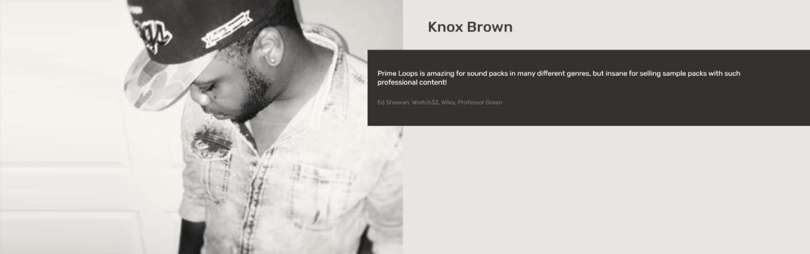 Knox Brown  Testimonial
