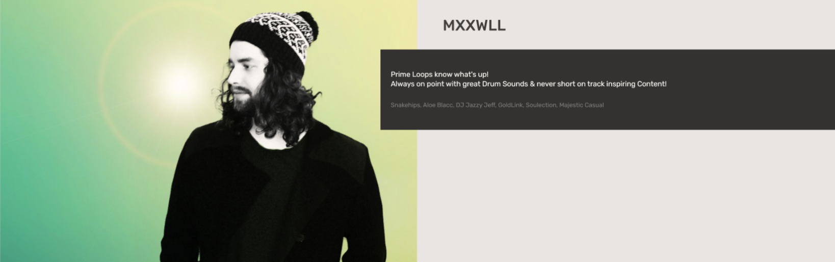 MXXWLL   Testimonial