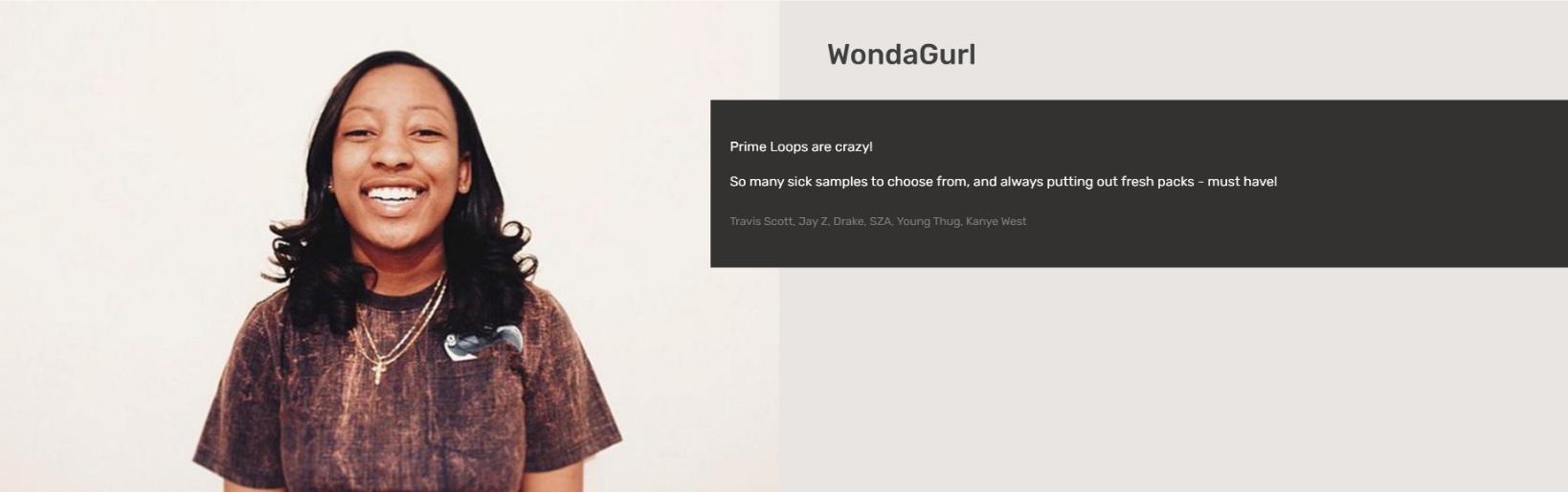 Wondagurl   Testimonial
